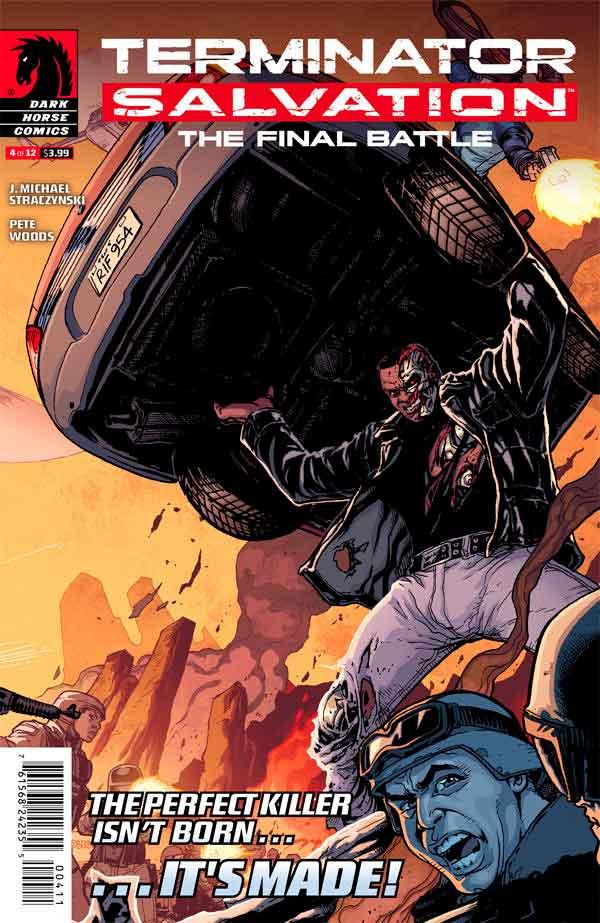 Terminator Salvation The Final Battle #4 Терминатор Спасение. Финальная битва #4 читать скачать комиксы онлайн