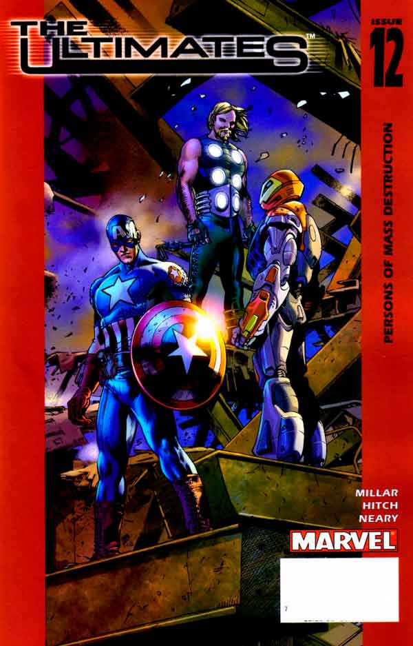 Ultimates Vol 1 #12 Безупречные #12 Том 1 читать скачать комиксы онлайн