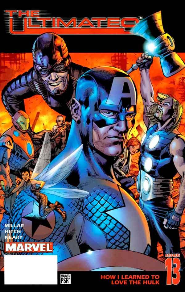 Ultimates Vol 1 #13 Безупречные #13 Том 1 читать скачать комиксы онлайн