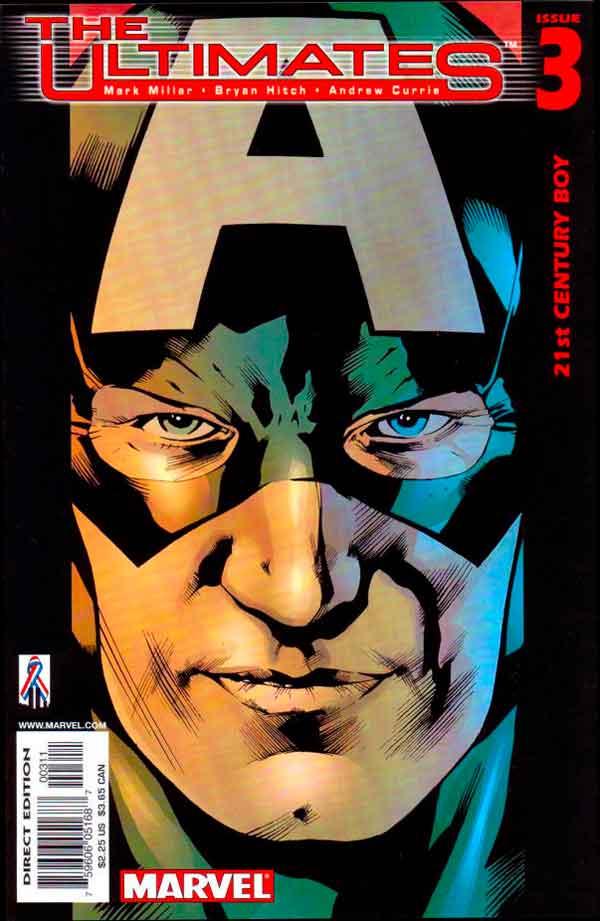 Ultimates Vol 1 #3 Безупречные #3 Том 1 читать скачать комиксы онлайн