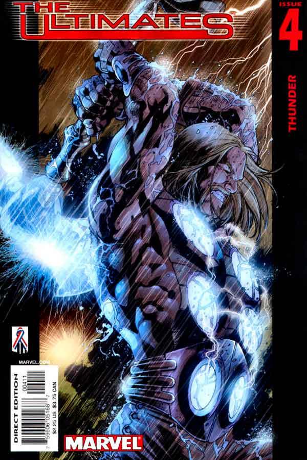 Ultimates Vol 1 #4 Безупречные #4 Том 1 читать скачать комиксы онлайн
