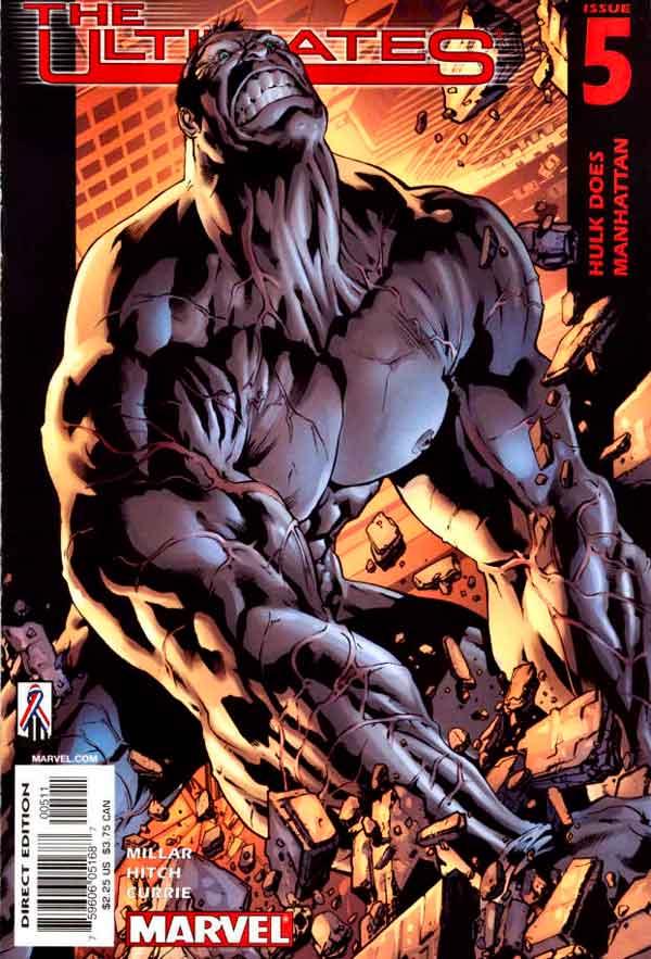 Ultimates Vol 1 #5 Безупречные #5 Том 1 читать скачать комиксы онлайн