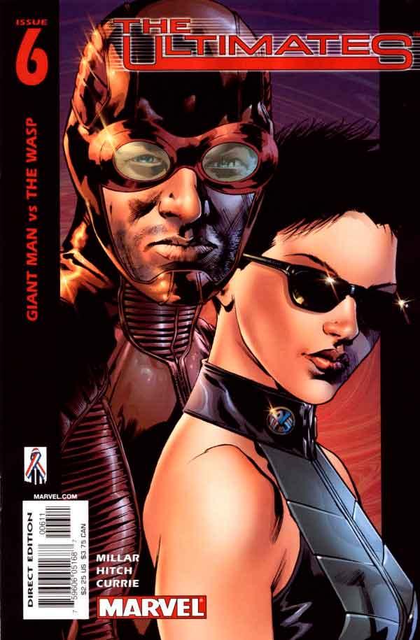 Ultimates Vol 1 #6 Безупречные #6 Том 1 читать скачать комиксы онлайн