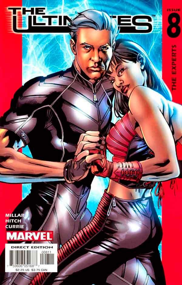 Ultimates Vol 1 #8 Безупречные #8 Том 1 читать скачать комиксы онлайн