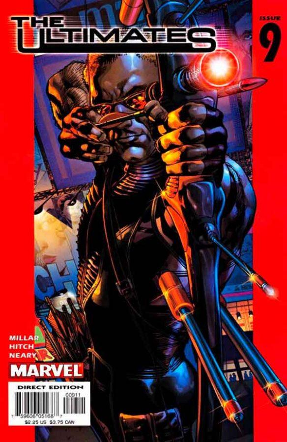 Ultimates Vol 1 #9 Безупречные #9 Том 1 читать скачать комиксы онлайн
