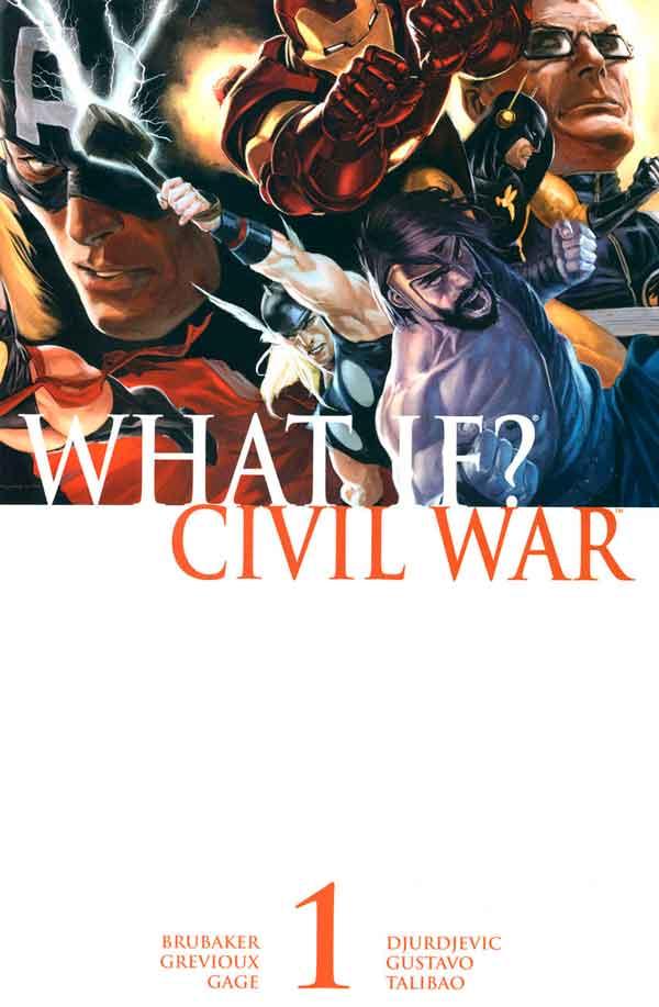 What If? Civil War Vol 1 #1, Что если? Гражданская Война Том 1 #1 читать скачать комиксы