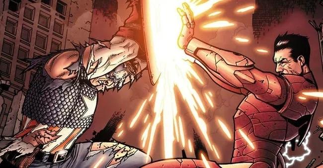 Комикс Гражданская Война, Civil War читать скачать онлайн