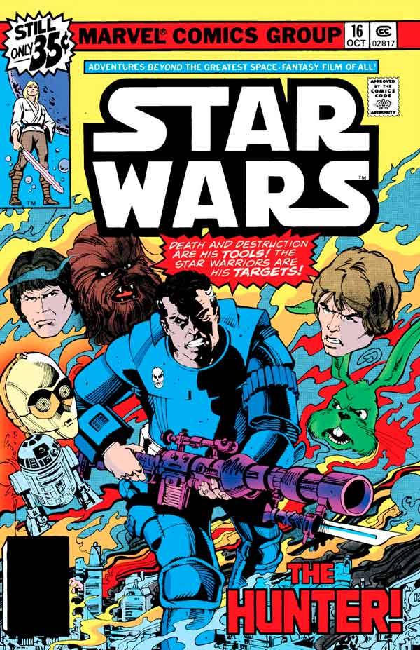 Star Wars #16 (1977) скачать/читать комиксы онлайн