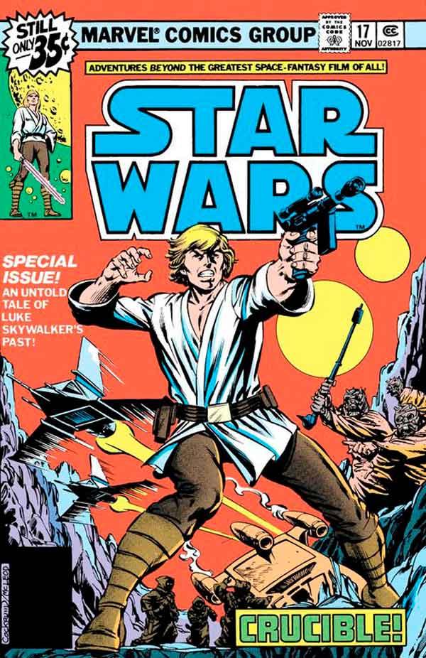Star Wars #17 (1977) скачать/читать комиксы онлайн