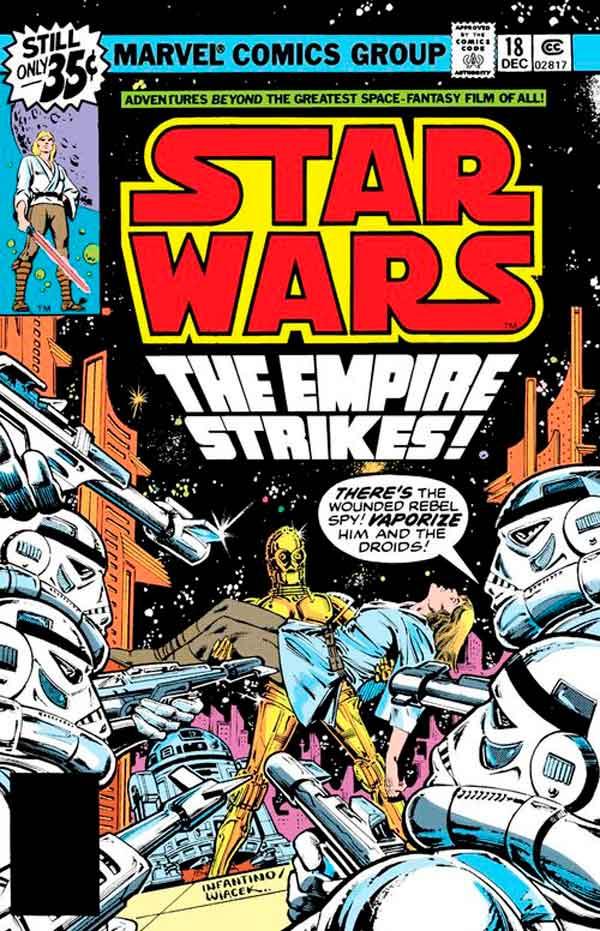 Star Wars #18 (1977) скачать/читать комиксы онлайн