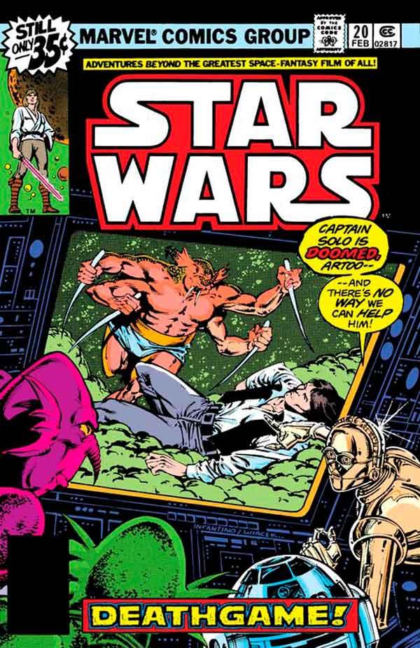 Star Wars #20 (1977) скачать/читать комиксы онлайн