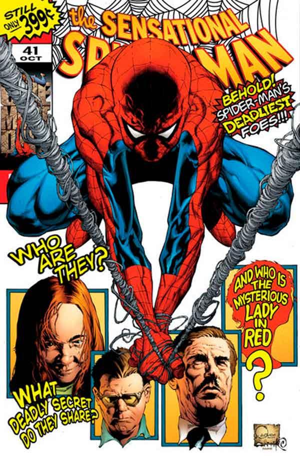 Sensational Spider-Man Vol 2 #41 Сенсационный Человек-Паук Том 2 #41 читать скачать комиксы онлайн