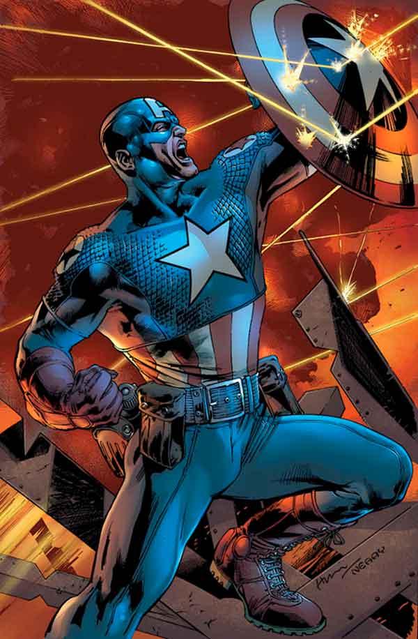Современный Капитан Америка (Ultimate Captain America) captain america 1610, Современный Капитан Америка, Ultimate Captain America