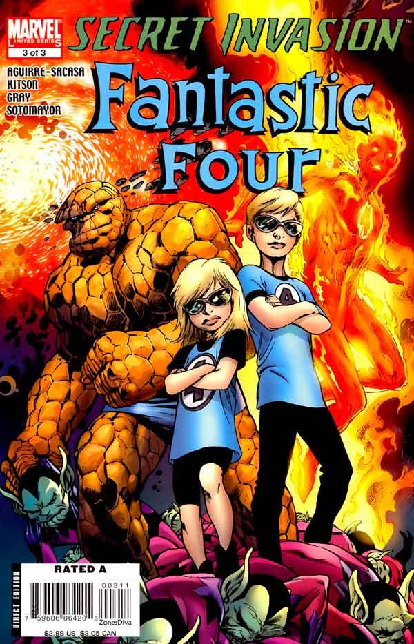 Secret Invasion: Fantastic Four Vol 1 #3 Секретное Вторжение: Фантастическая Четверка Том 1 #3 читать скачать комиксы онлайн