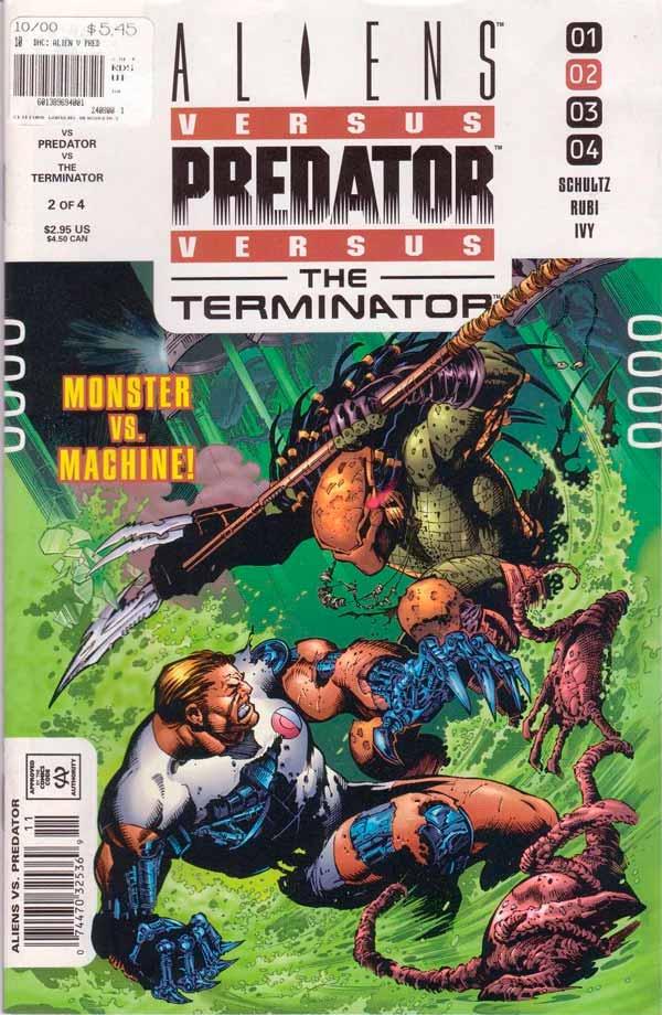 Aliens vs. Predator vs. The Terminator #2 Чужие против Хищника против Терминатора #2 читать скачать комиксы онлайн