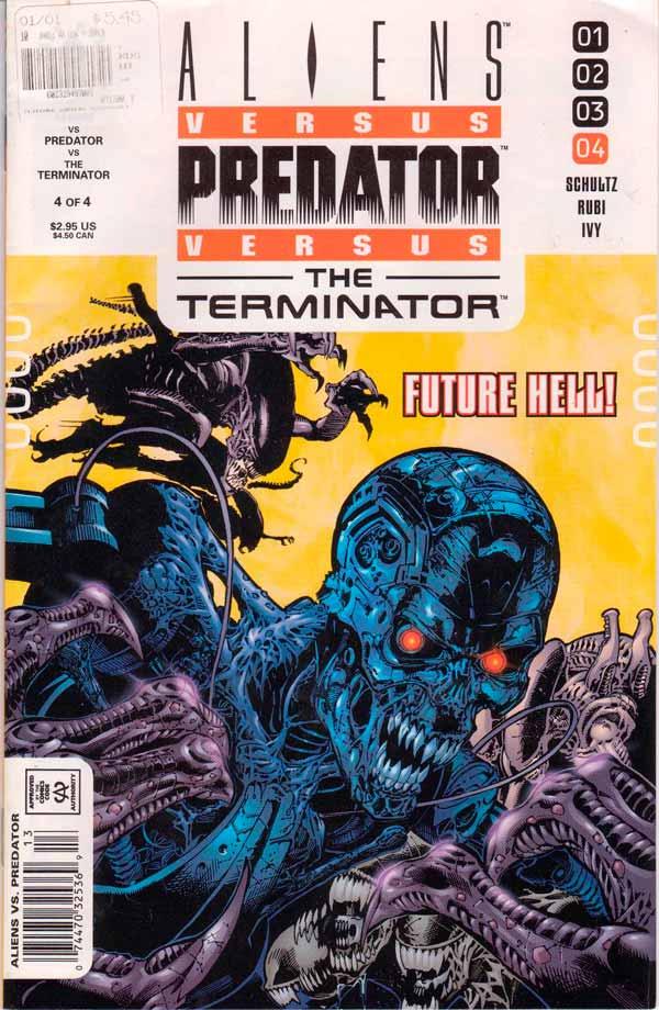 Aliens vs. Predator vs. The Terminator #4 Чужие против Хищника против Терминатора #4 читать скачать комиксы онлайн