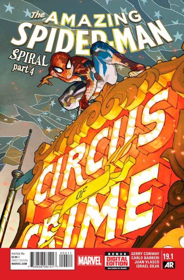 Удивительный Человек Паук Том 3 #19.1 Amazing Spider-Man Vol 3 #19.1 читать скачать комиксы