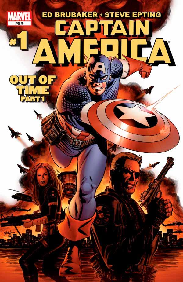 Captain America Vol 5 #1 Капитан Америка Том 5 #1 скачать читать комиксы онлайн