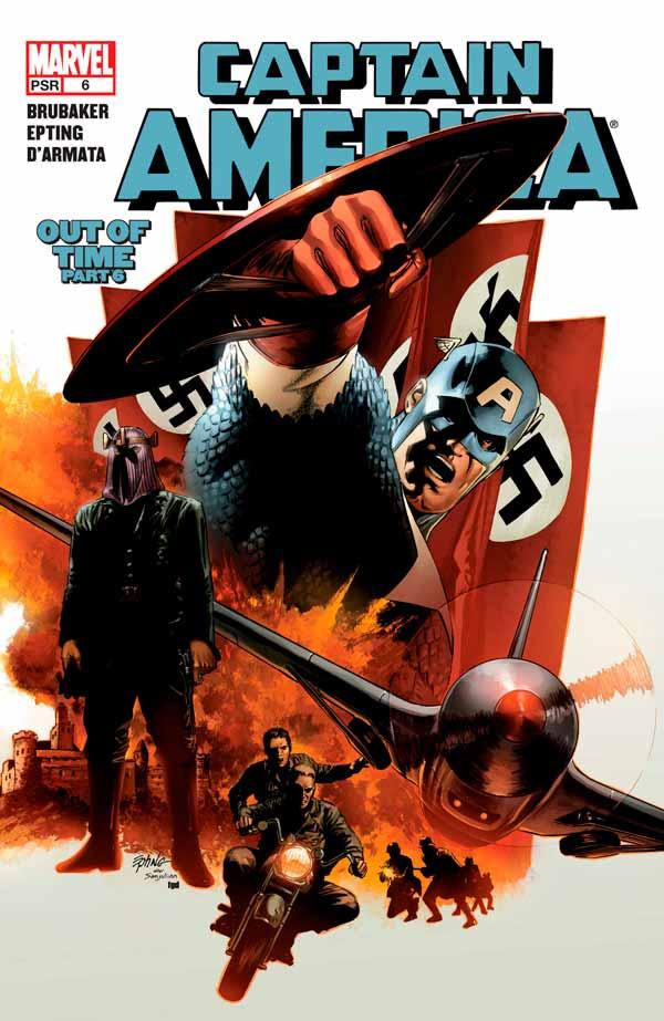 Captain America Vol 5 #6 Капитан Америка Том 5 #6 скачать читать комиксы онлайн