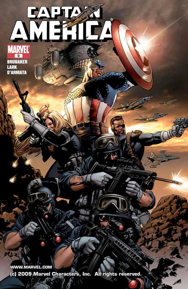 Captain America Vol 5 #9 Капитан Америка Том 5 #9 скачать читать комиксы онлайн