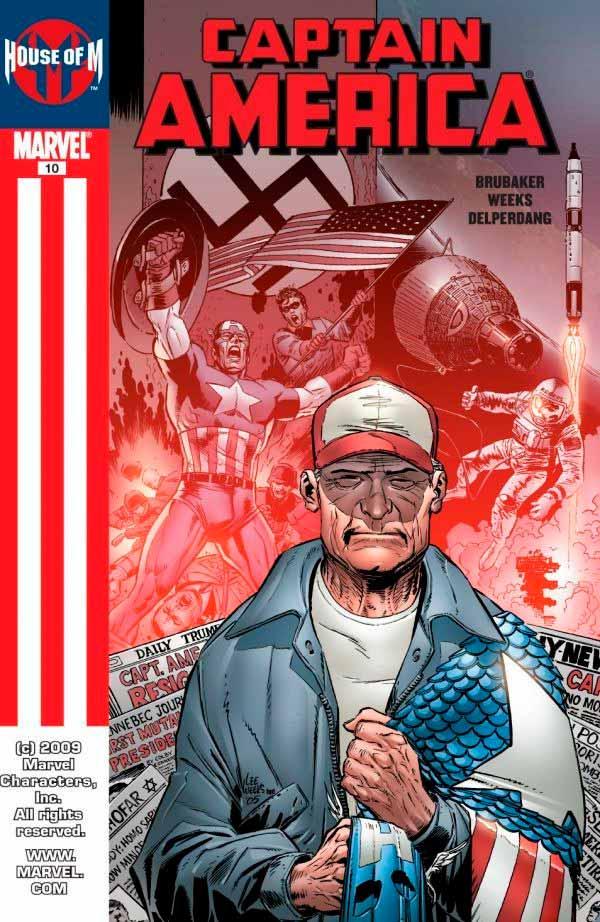 Captain America Vol 5 #10 Капитан Америка Том 5 #10 скачать читать комиксы онлайн