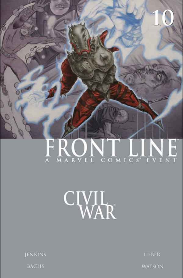 Civil War: Front Line Vol 1 #10 Гражданская Война Линия Фронта Том 1 #10 читать скачать комиксы онлайн
