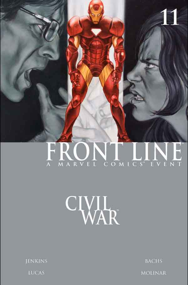 Civil War: Front Line Vol 1 #11 Гражданская Война Линия Фронта Том 1 #11 читать скачать комиксы онлайн