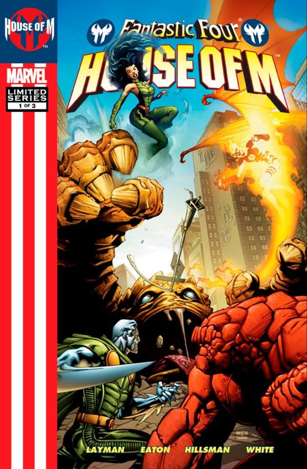 Фантастическая Четверка: День М Том 1 #1 Fantastic Four: House of M Vol 1 #1 читать скачать комиксы онлайн