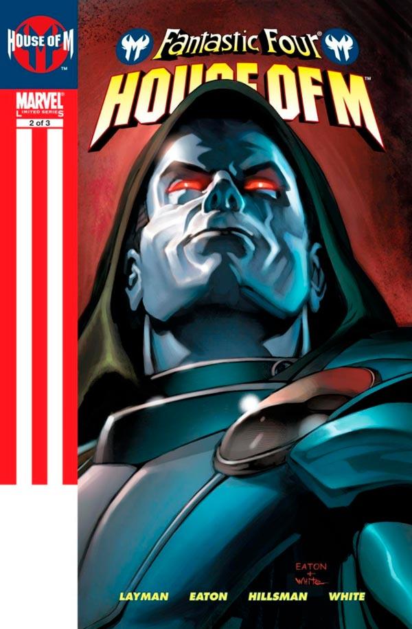 Фантастическая Четверка: День М Том 1 #2 Fantastic Four: House of M Vol 1 #2 читать скачать комиксы онлайн