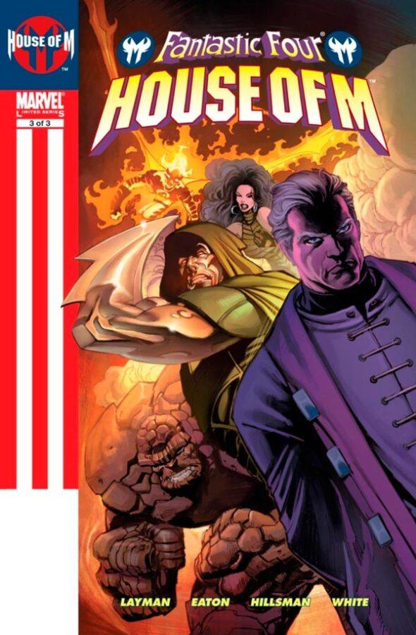 Фантастическая Четверка: День М Том 1 #3 Fantastic Four: House of M Vol 1 #3 читать скачать комиксы онлайн