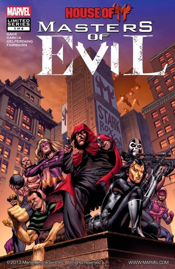 House of M: Masters of Evil Vol 1 #1 День М: Мастера Зла Том 1 #1 скачать читать комиксы онлайн