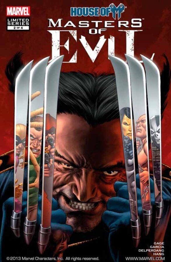House of M: Masters of Evil Vol 1 #2 День М: Мастера Зла Том 1 #2 скачать читать комиксы онлайн