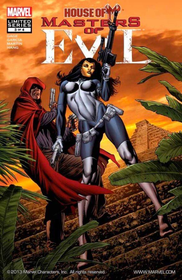 House of M: Masters of Evil Vol 1 #3 День М: Мастера Зла Том 1 #3 скачать читать комиксы онлайн