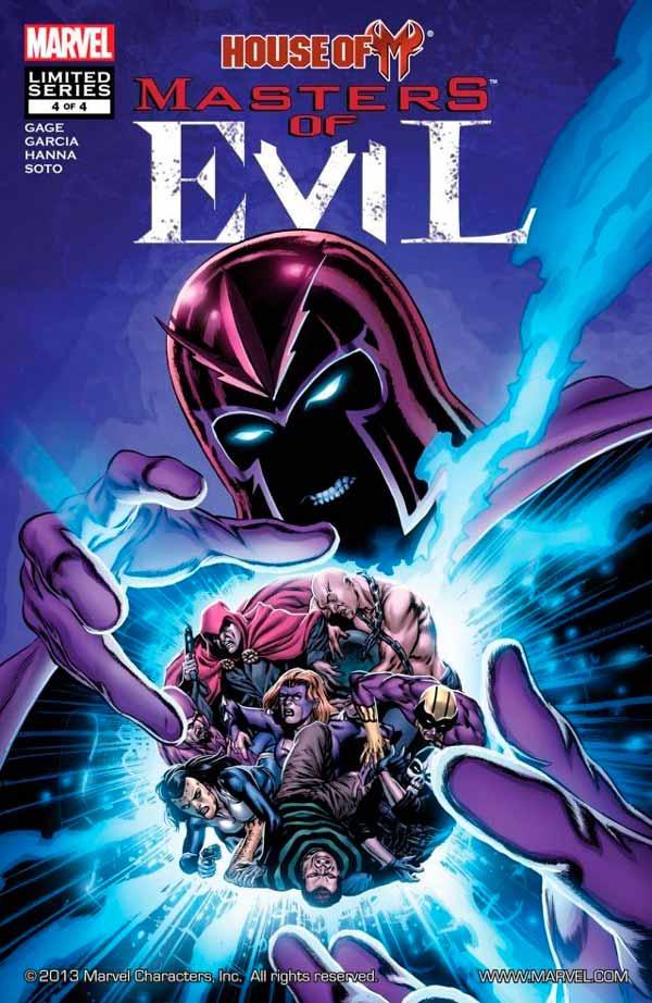 House of M: Masters of Evil Vol 1 #4 День М: Мастера Зла Том 1 #4 скачать читать комиксы онлайн