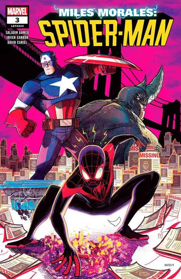 Miles Morales: Spider-Man Vol 1 #3 Майлз Моралес: Человек-Паук Том 1 #3 читать скачать комиксы онлайн