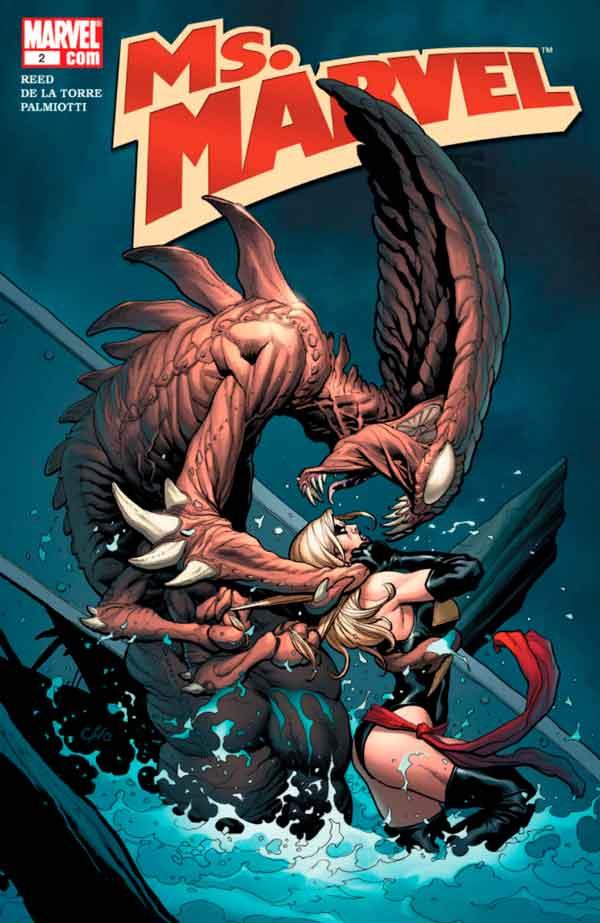 Мисс Марвел Том 2 #2 Ms. Marvel Vol 2 #2 скачать читать комиксы онлайн