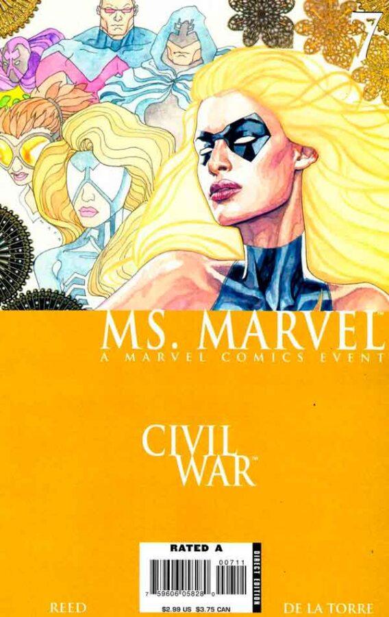 Мисс Марвел Том 2 #7 Ms. Marvel Vol 2 #7 скачать читать комиксы онлайн