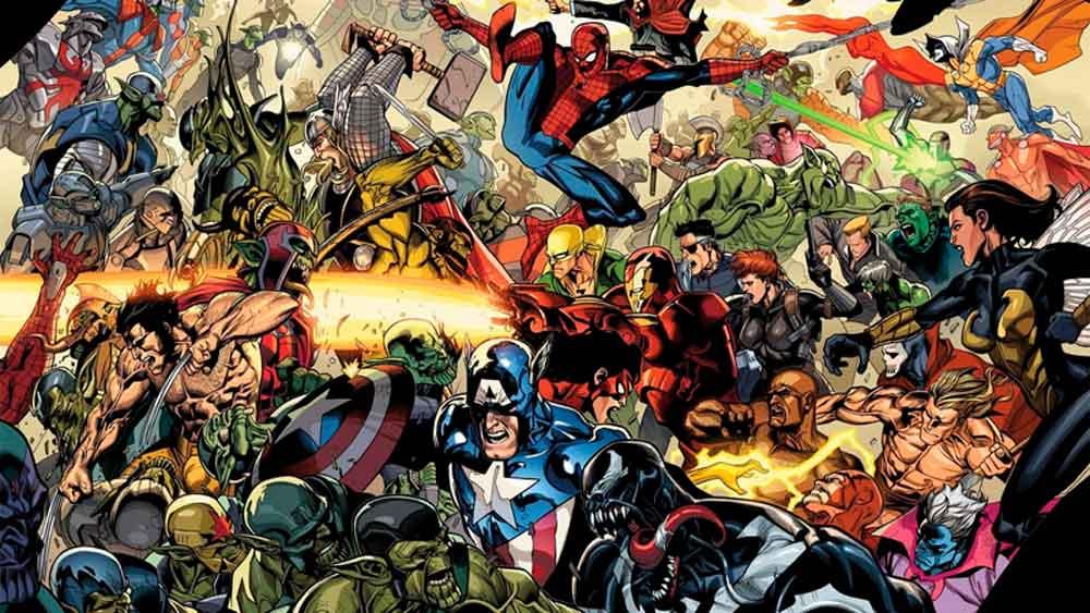 Secret Invasion, Тайное Вторжение, Секретное Вторжение комиксы читать скачать онлайн