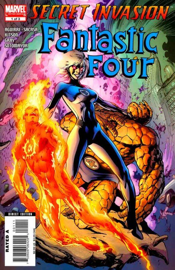 Secret Invasion: Fantastic Four Vol 1 #1 Секретное Вторжение: Фантастическая Четверка Том 1 #1 читать скачать комиксы онлайн
