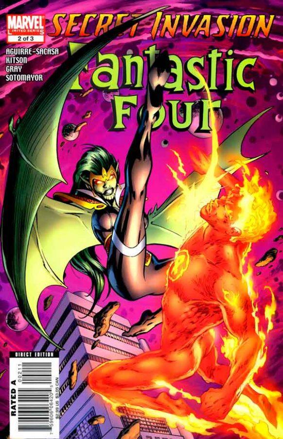 Secret Invasion: Fantastic Four Vol 1 #2 Секретное Вторжение: Фантастическая Четверка Том 1 #2 читать скачать комиксы онлайн