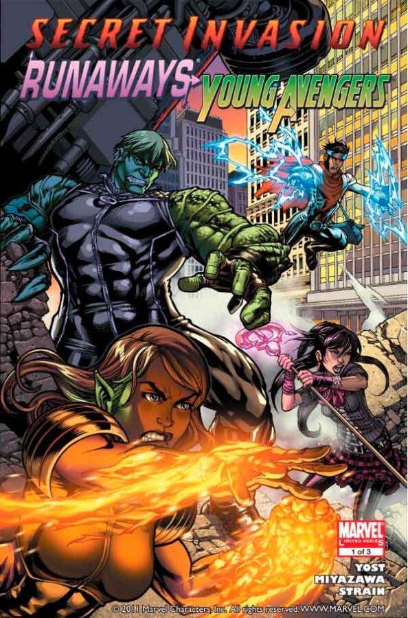 Secret Invasion: Runaways/Young Avengers Vol 1 #1 Тайное вторжение: беглецы / молодые мстители Том 1 #1