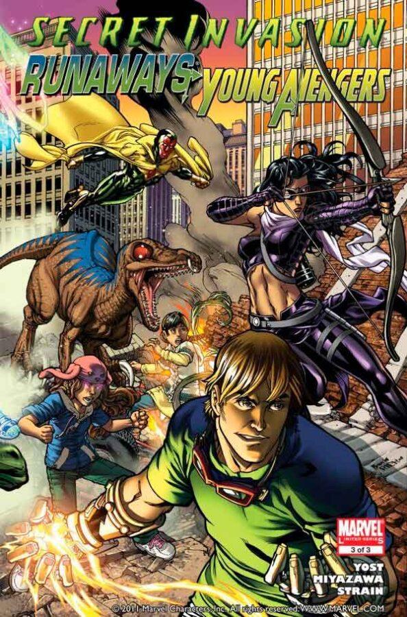 Secret Invasion: Runaways/Young Avengers Vol 1 #1 Тайное вторжение: беглецы / молодые мстители Том 1 #2 читать скачать комиксы