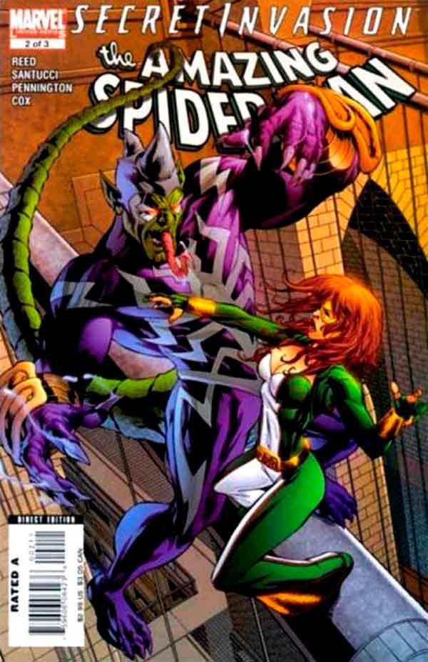 Secret Invasion: The Amazing Spider-Man Vol 1 #2 Тайное Вторжение: Удивительный Человек-Паук Том 1 #2 читать скачать комиксы онлайн