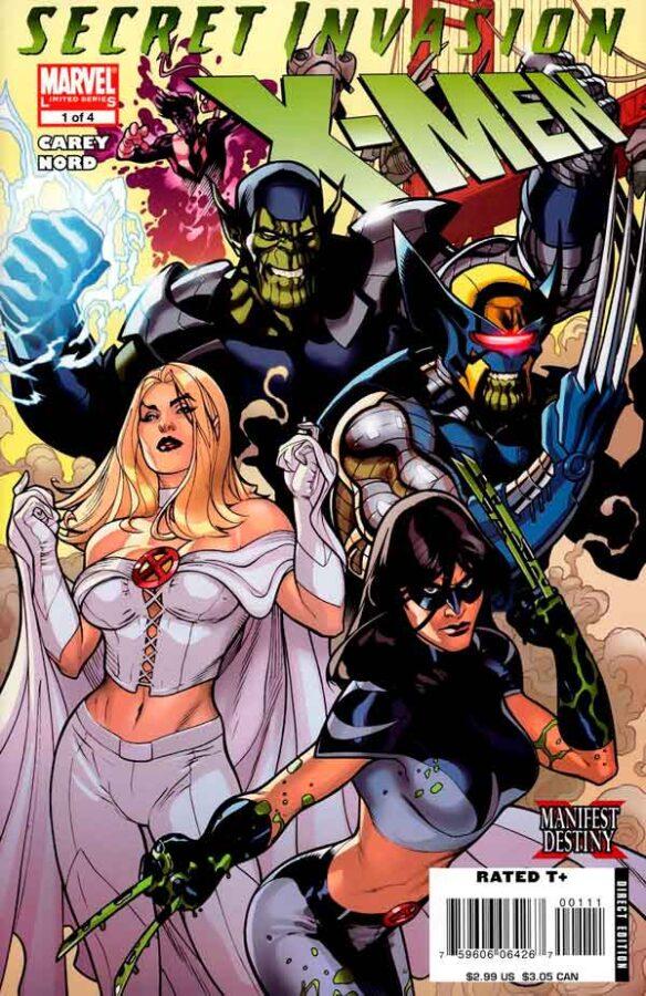 Secret Invasion: X-Men Vol 1 #1 Секретное Вторжение: Люди-Икс Том 1 #1 читать скачать комиксы онлайн