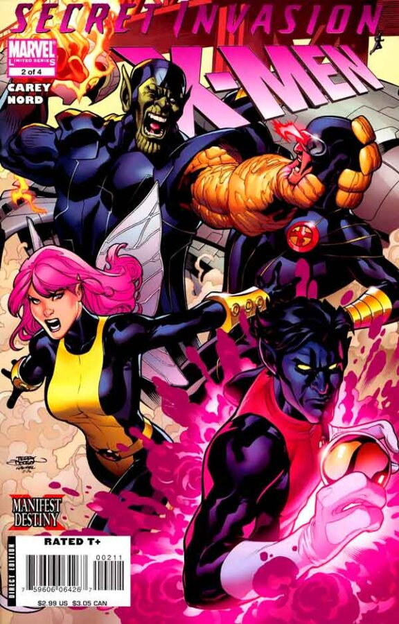 Secret Invasion: X-Men Vol 1 #2 Секретное Вторжение: Люди-Икс Том 1 #2 читать скачать комиксы онлайн
