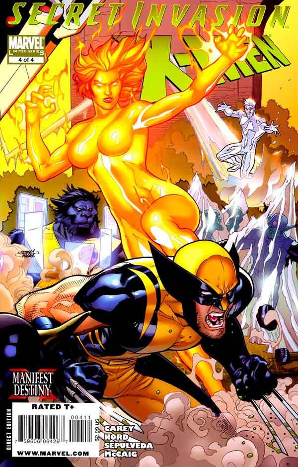 Secret Invasion: X-Men Vol 1 #4 Секретное Вторжение: Люди-Икс Том 1 #4 читать скачать комиксы онлайн