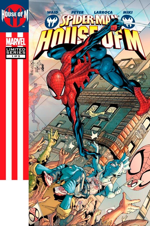 Человек-Паук День М #1 Том 1 Spider-Man: House of M Vol 1 #1 читать скачать комиксы онлайн