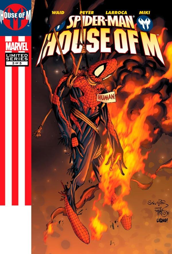 Человек-Паук День М #3 Том 1 Spider-Man: House of M Vol 1 #3 читать скачать комиксы онлайн