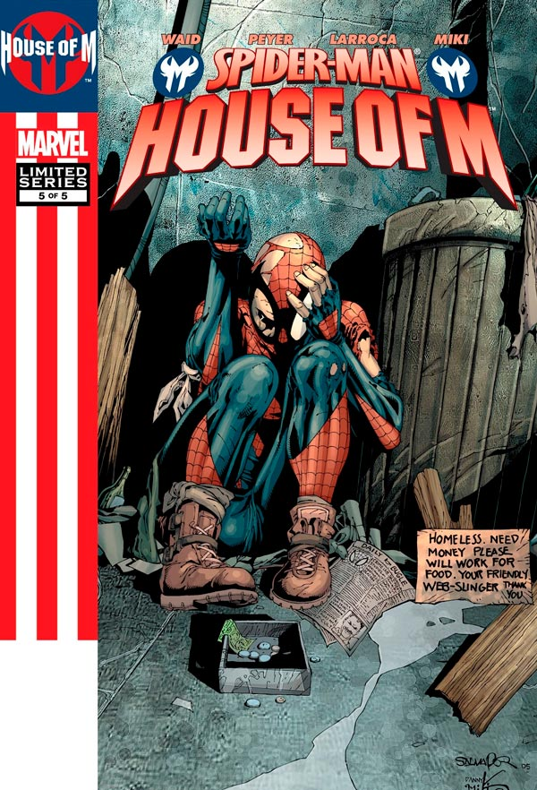 Человек-Паук День М #5 Том 1 Spider-Man: House of M Vol 1 #5 читать скачать комиксы онлайн