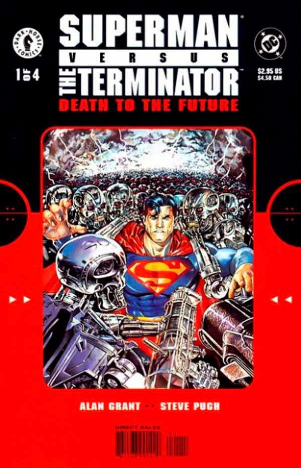 Супермен Против Терминатора: Смерть из Будущего #1 Superman vs. The Terminator: Death to the Future #1 читать скачать комиксы онлайн